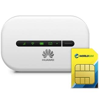HUAWEI Mobile Wifi Plus One Other Asia Sim Card